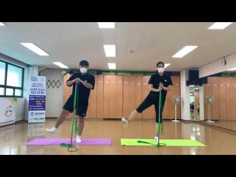 8월 비대면 체육지도영상 - 짐스틱 타바타 3탄 (구본욱 지도자)