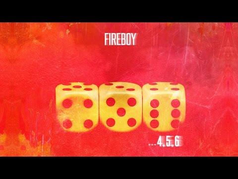 Letra 4,5,6 Fuego