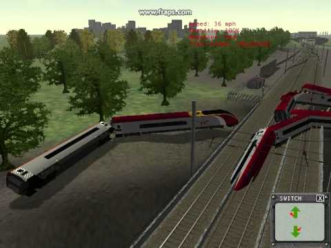 MSTS Pendolino crash #4