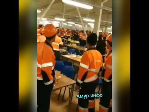 Массовая драка в заводской столовой
