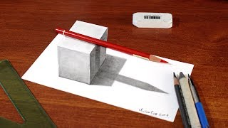 "Drawing easy cube with pencil. 3d effect................................................................................................It took me:0:40 hour....................................................................................................MATERIALS:Prismacolor Ebony or 8b graphite pencilStump.............................................................................................MUSIC:http://incompetech.com/music/royalty-free/music.html""Spellbound"" Kevin MacLeod (incompetech.com)Licensed under Creative Commons: By Attribution 3.0 Licensehttp://creativecommons.org/licenses/by/3.0/............................................................................................Follow me:Youtube: https://www.youtube.com/user/MyDrawingTipsTwitter: https://twitter.com/MyDrawingTipsFacebook: https://www.facebook.com/MyDrawingTipsPinterest: http://www.pinterest.com/dashedtips/Blogger: http://miltoncor.blogspot.com/Deviantart: http://miltoncesar.deviantart.com/...............................................................................................Thanks for watching and please subscribe to my channel MyDrawingTips ChannelMilton Cor ©2014..............................................................................................."