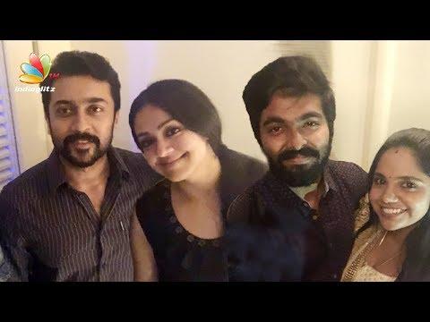 Suriya, Jyothika at Naachiyaar Success Meet | GV Prakash, Saindhavi, Bala | Latest News