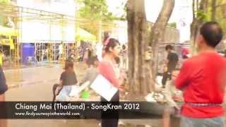 Chiang Mai Thailand - Songkran 2012