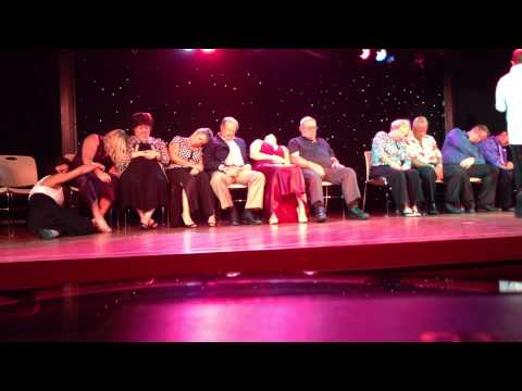 Comedy Hypnotist Show on the Golden Princess, October 24, 2012