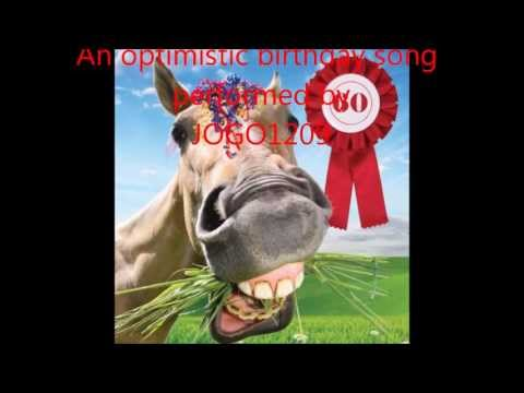 """A brand new Happy Birthday Song called """"With 60"""" Optimistic & funny lyrics by Jogo1209"""