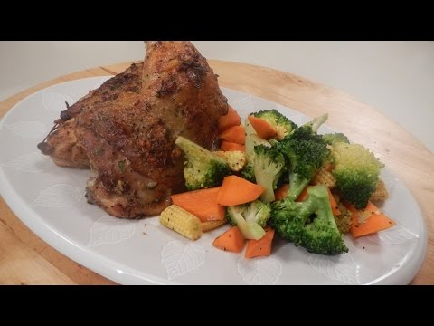 Spring Chicken with Sauted Vegetables 30 October 2014 05 PM