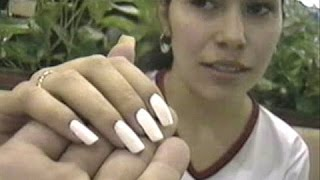 Gabriela Mujer Con Uñas Largas Naturales Girls With Natural Longnails