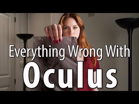 wrong - Oculus. Apparently it's a scary word. Which does not mean mirrors. But... whatever. Sins! Next week: One more classic horror film, and an M. Night joint. Remember, no movie is without sin....