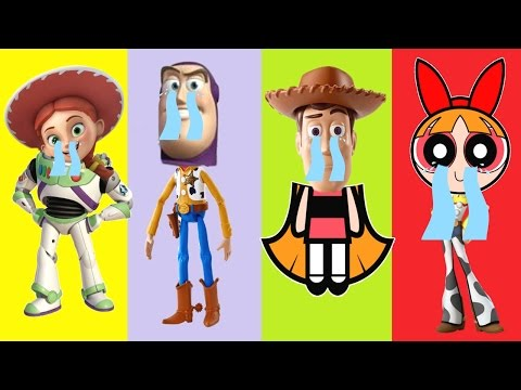 Video Wrong Heads Blossom, Toy Story Buzz lightyear, Jessie, Woody Finger Family Nursery Songs download in MP3, 3GP, MP4, WEBM, AVI, FLV January 2017