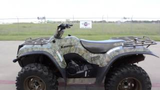 4. $3,599:  Pre Owned 2004 Kawasaki Prairie 700 4X4 Realtree Camouflage For Sale