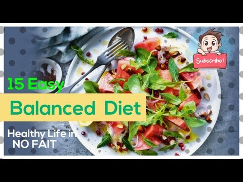 What's the DASH Diet and Why Doctors Call It the Best Diet| 15 EASY  BALANCED DIET