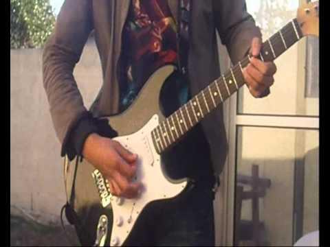 punteo de guitarra electrica