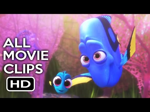 Finding Dory All Movie Clips (2016) Ellen DeGeneres Animated Movie HD