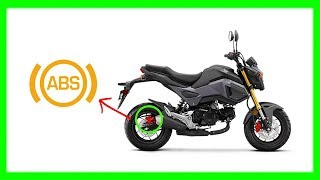 10. 2018 Honda Grom ABS SYSTEM Review