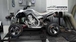 10. Dynojet testrun Yamaha Raptor 700 2014, Klijnstra Motoren