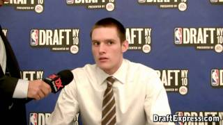 Luke Babbitt - 2010 NBA Draft Media Day - DraftExpress