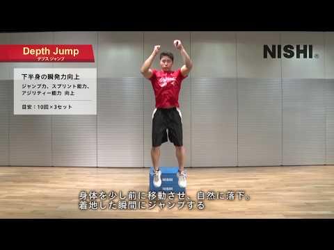 【プライオボックス】Jump 下半身の瞬発力向上