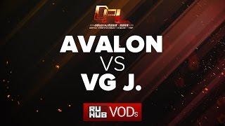Avalon vs VG.J, DPL Season 2 - Div. A, game 1 [Tekcac, Inmate]