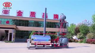Oil Fired Hot Oil Boiler, Gas fired Thermic Fluid Heater, Thermal Oil Furnace for Petroleum youtube video