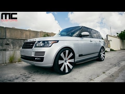 MC Customs Range Rover x Forgiato Fest 2014