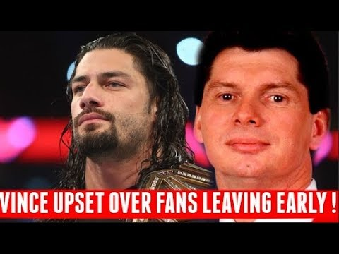 Video Vince McMahon's Reaction to FANS Walking out on Roman Reigns Match at Backlash download in MP3, 3GP, MP4, WEBM, AVI, FLV January 2017