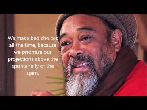 Mooji Quotes: Don't Prioritize Your Projections Above the Spontaneity of the Spirit.