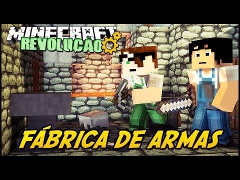 Minecraft: A REVOLUÇÃO – FÁBRICA DE ARMAS! #38