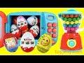 KINDER Chocolate Surprise Egg Kinder Joy Magical Microwave & Blender Toys Learn Colors for Babies