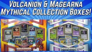 Pokemon Cards - Opening BOTH Volcanion & Magearna Mythical Collection Boxes! by The Pokémon Evolutionaries