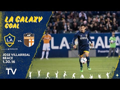 Video: WATCH: Jose Villarreal's brace against FC Shirak | SLO-MO GOALS