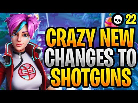 CRAZY New Changes To Shotguns In Fortnite! (Fortnite Update 9.40 - New Tac Shotgun)