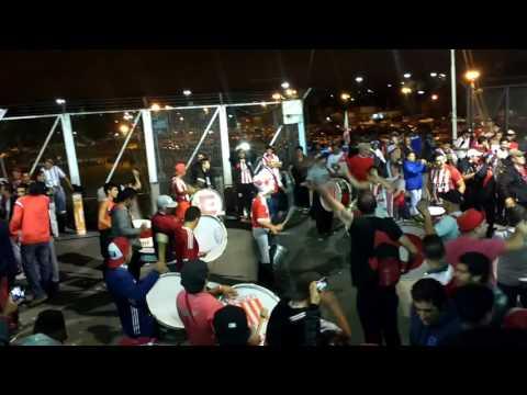 Previa de la hinchada pincha vs atlético nacional (col) parte 1 - Los Leales - Estudiantes de La Plata