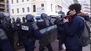 Ziomek rozwalił system podczas przemarszu policjantów. Dobry numer odstawił