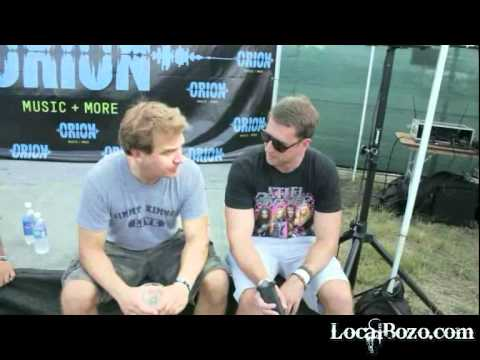 Comedian Jim Florentine at Orion Fest Talks Metallica and That Metal Show with LocalBozo.com