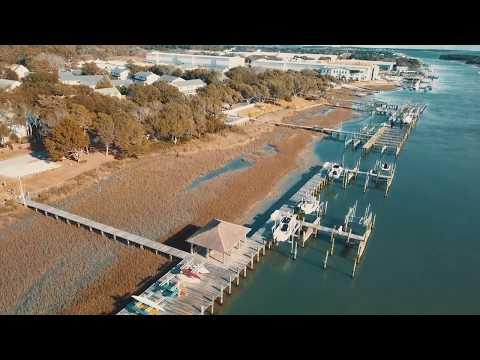 4K Drone Footage of Beaufort, NC DJI Mavic Pro