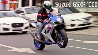 9. Suzuki GSXR 1000 Two Brothers 4x1 Exhaust - BIKERS GARAGE #07