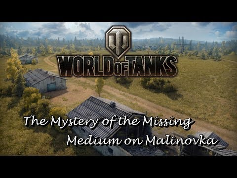 World Of Tanks - The Mystery Of The Missing Medium On Malinovka