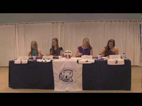 2012 Volleyball Signing