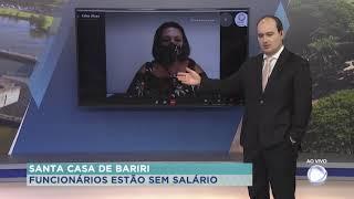 Funcionários da Santa Casa de Bariri estão com salários atrasados
