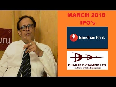 IPO's | Bandhan Bank & Bharat Dynamics LTD | Coffee With Share Guru