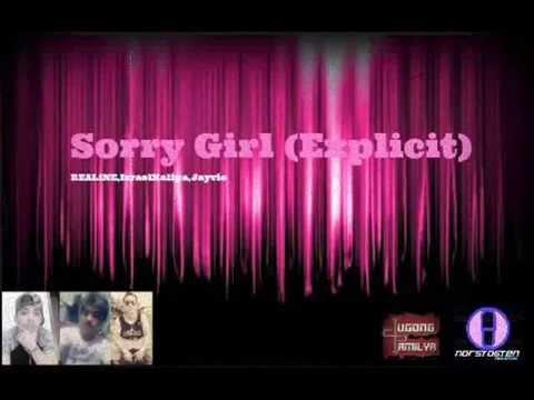 Video REAL1NE - Sorry Girl (Original Audio) Israel Kalipa,Jayvie #DpMuzick download in MP3, 3GP, MP4, WEBM, AVI, FLV January 2017