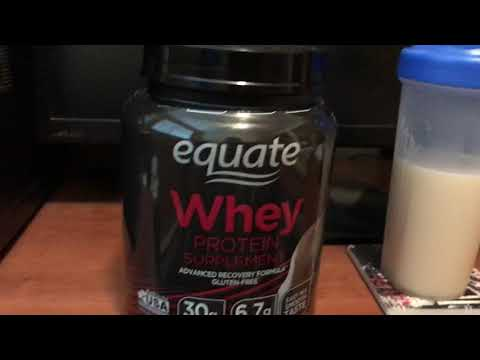 Honest Equate Protein Powder Review