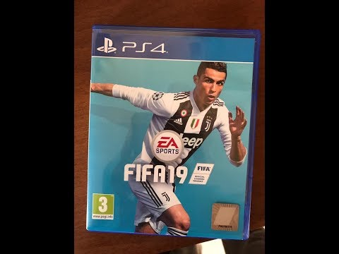 FIFA 19 UNBOXING AND OVERVIEW (PRE-ORDER FROM AMAZON)