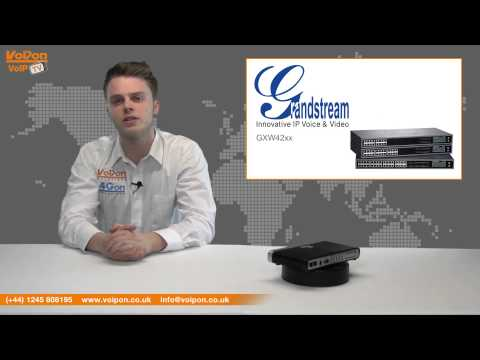 Grandstream GXW4004 and 4008 Gateway Video Review / Unboxing