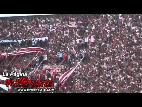 """Video - """"Cantemos todos que Nuñez está de fiesta..."""" River Plate - Los Borrachos del Tablón - River Plate - Argentina"""