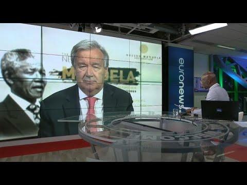 Ο Αντόνιο Γκουτέρες στο euronews