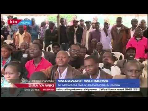 Naibu wa Rais Ruto awahimiza wanawake watulie