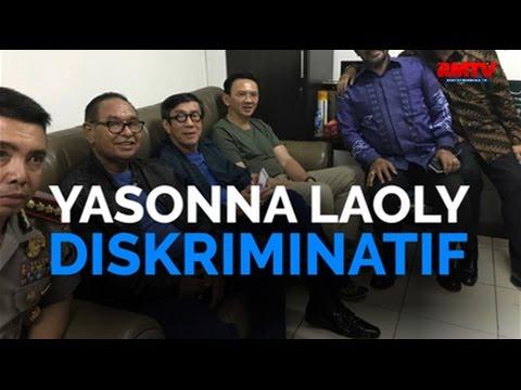 Yasonna Laoly Diskriminatif