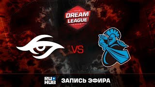 Secret vs NewBee, DreamLeague Season 8, game 1 [v1lat, Dead_Angel