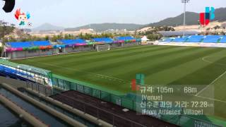Mokpo-si South Korea  City new picture : Competition venues_23_24_Mokpo Main International Football Center_Football